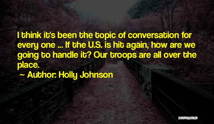 It Is All Over Quotes By Holly Johnson