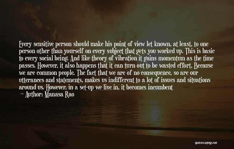 It Is All Over Quotes By Manasa Rao