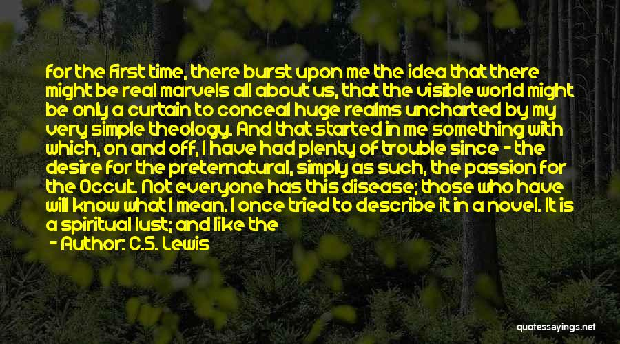 It Not That Simple Quotes By C.S. Lewis