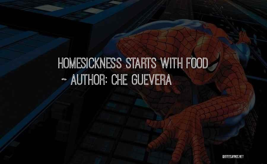 It Starts With Food Quotes By Che Guevera
