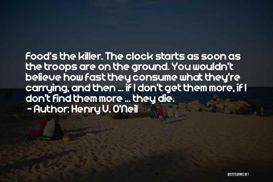 It Starts With Food Quotes By Henry V. O'Neil