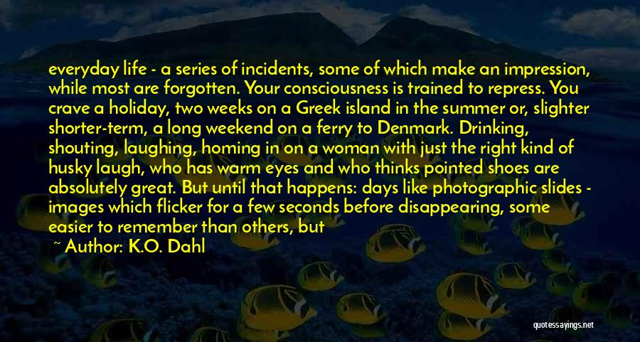 It Was A Great Weekend Quotes By K.O. Dahl