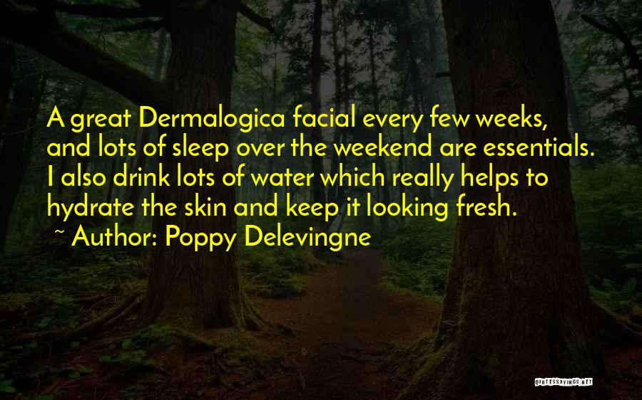 It Was A Great Weekend Quotes By Poppy Delevingne
