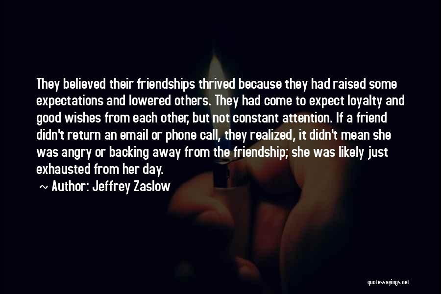 It Was Good Day Quotes By Jeffrey Zaslow