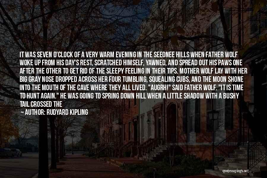 It Was Good Day Quotes By Rudyard Kipling