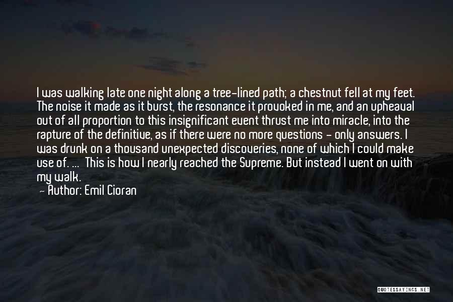 It Was Me All Along Quotes By Emil Cioran