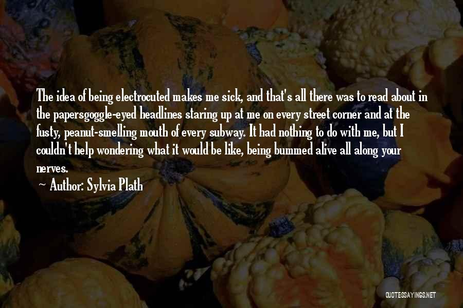 It Was Me All Along Quotes By Sylvia Plath