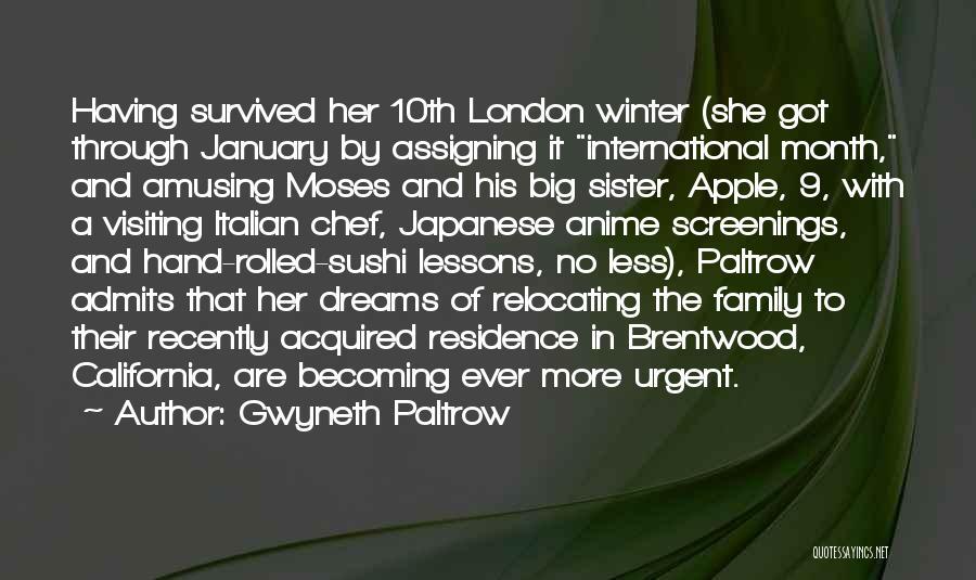 Italian Chef Quotes By Gwyneth Paltrow