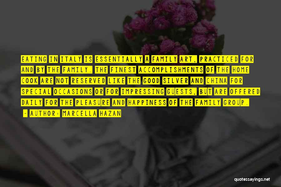 Italy And Art Quotes By Marcella Hazan