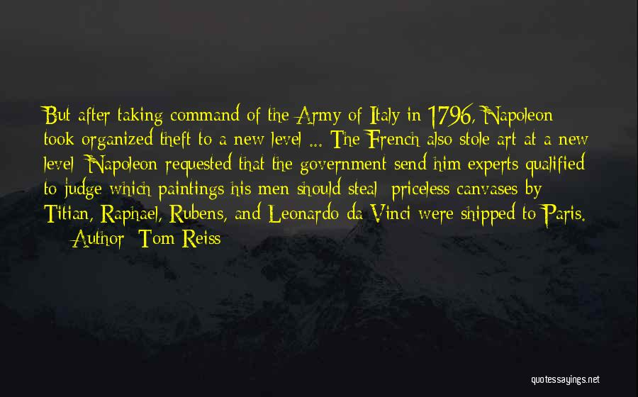 Italy And Art Quotes By Tom Reiss