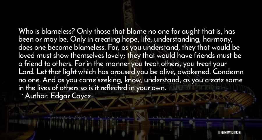 It's A Lovely Life Quotes By Edgar Cayce