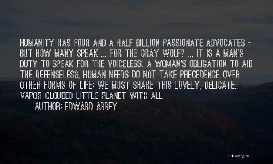 It's A Lovely Life Quotes By Edward Abbey