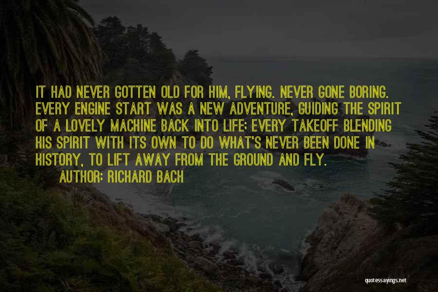 It's A Lovely Life Quotes By Richard Bach