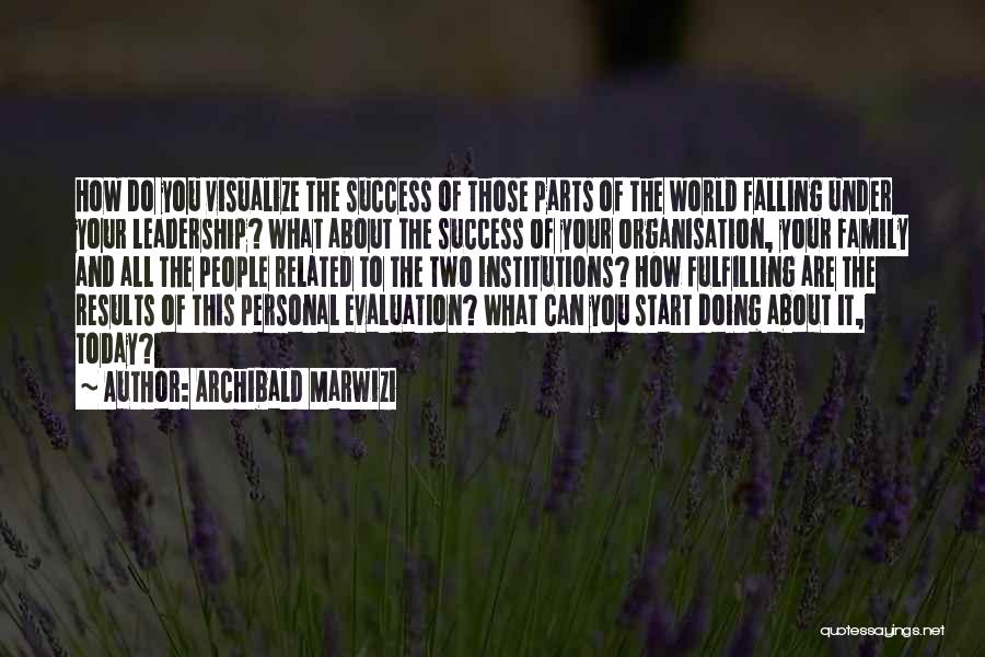 It's All About Your Attitude Quotes By Archibald Marwizi