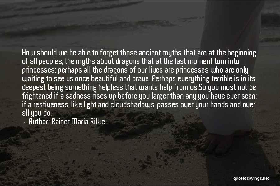 It's All About Your Attitude Quotes By Rainer Maria Rilke