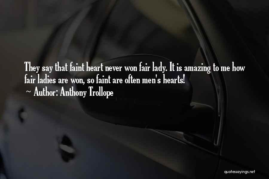 It's Amazing How Quotes By Anthony Trollope
