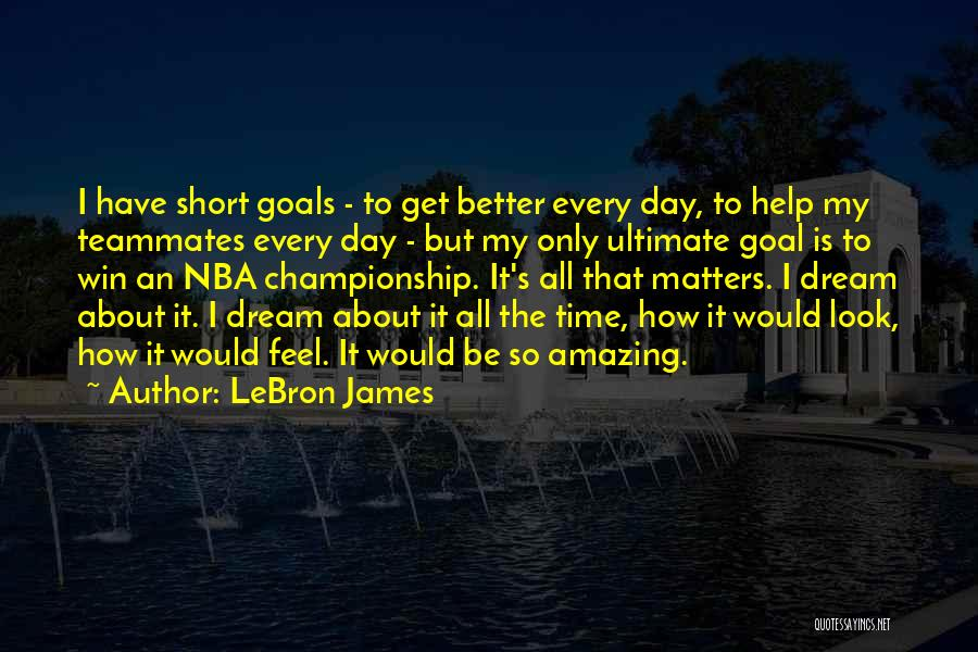 It's Amazing How Quotes By LeBron James