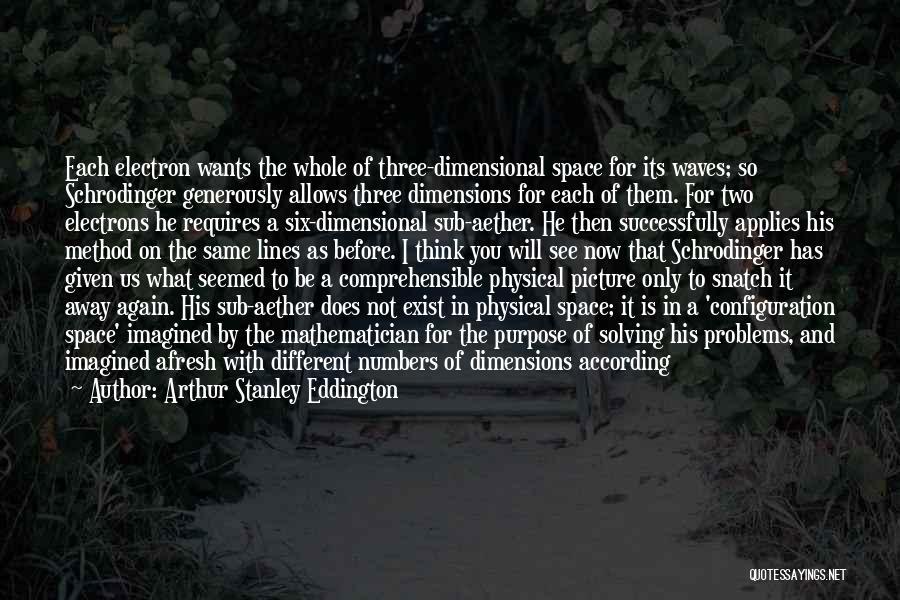 It's Different Now Quotes By Arthur Stanley Eddington