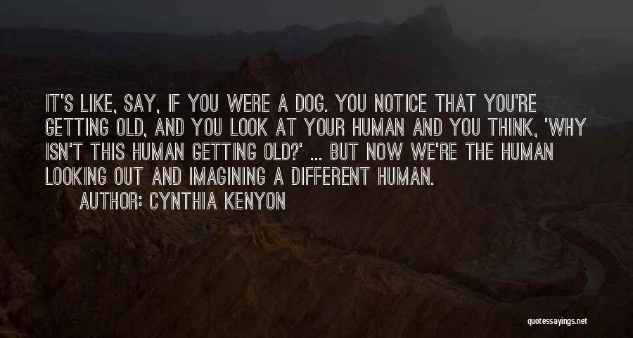 It's Different Now Quotes By Cynthia Kenyon