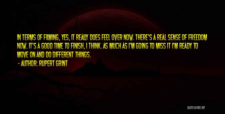 It's Different Now Quotes By Rupert Grint