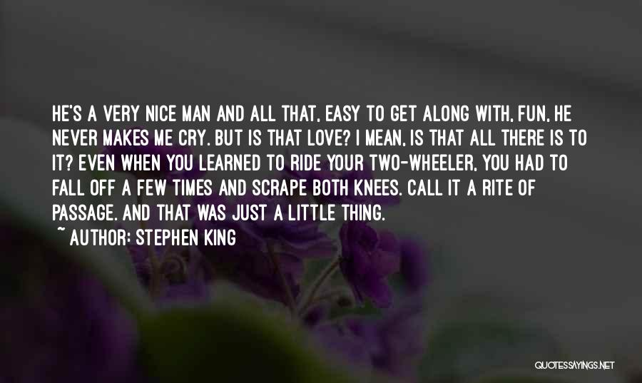 It's Easy To Love Quotes By Stephen King