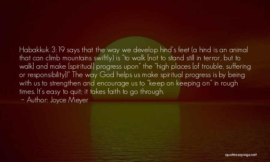 It's Easy To Quit Quotes By Joyce Meyer