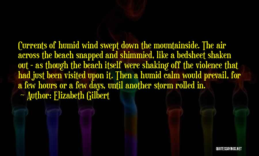 It's Just Been One Of Those Days Quotes By Elizabeth Gilbert