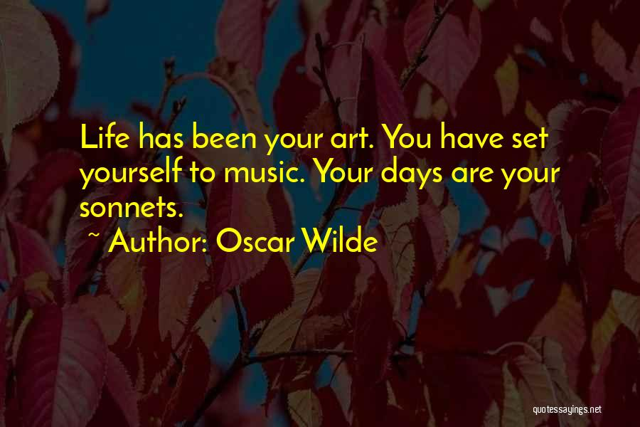It's Just Been One Of Those Days Quotes By Oscar Wilde