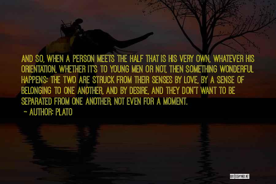 It's Love When Quotes By Plato