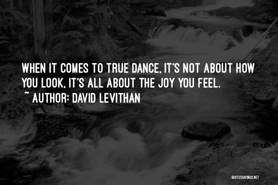 It's Not All About You Quotes By David Levithan