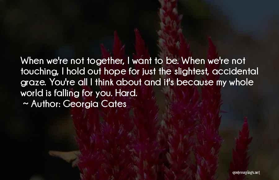 It's Not All About You Quotes By Georgia Cates