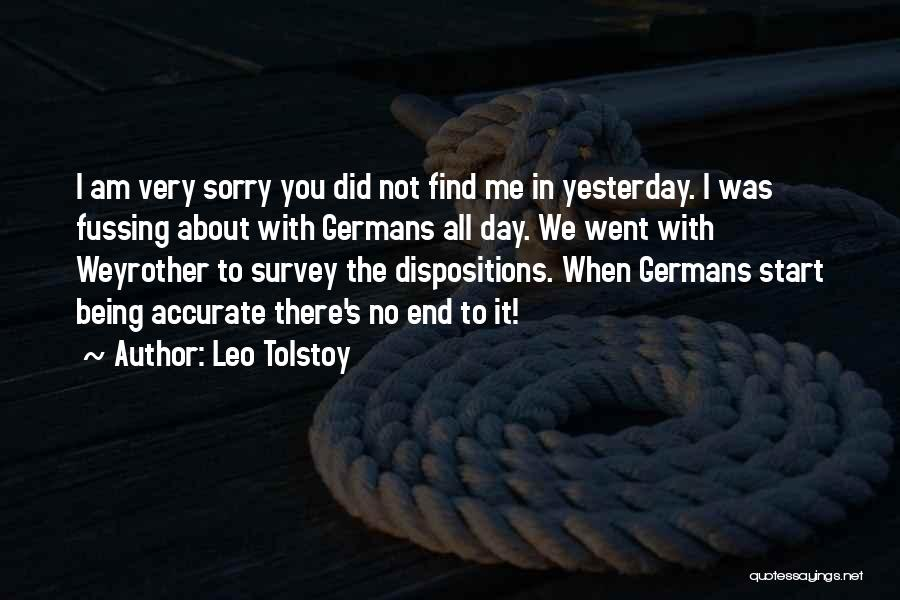 It's Not All About You Quotes By Leo Tolstoy