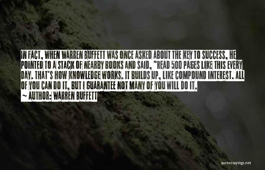 It's Not All About You Quotes By Warren Buffett