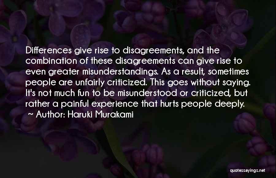 It's Okay Even If It Hurts Quotes By Haruki Murakami
