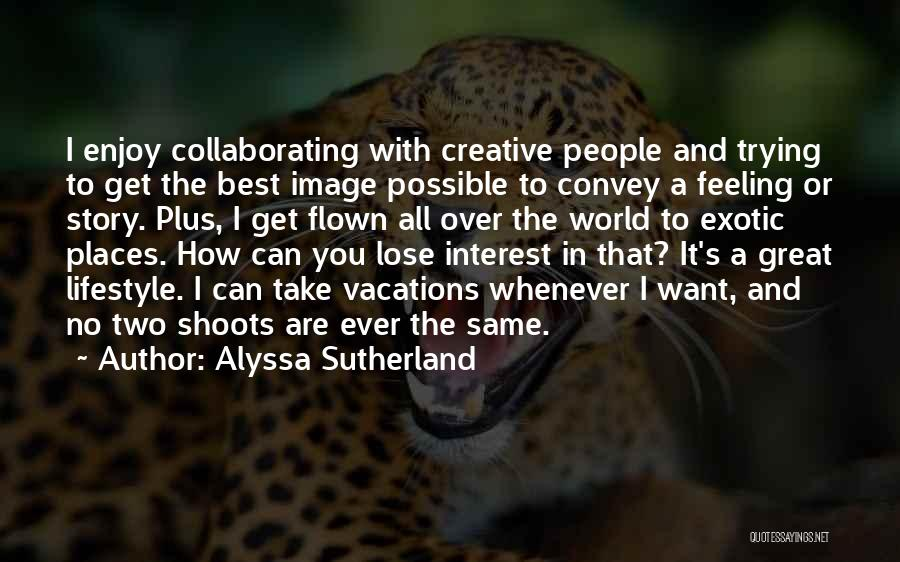 It's Over Image Quotes By Alyssa Sutherland