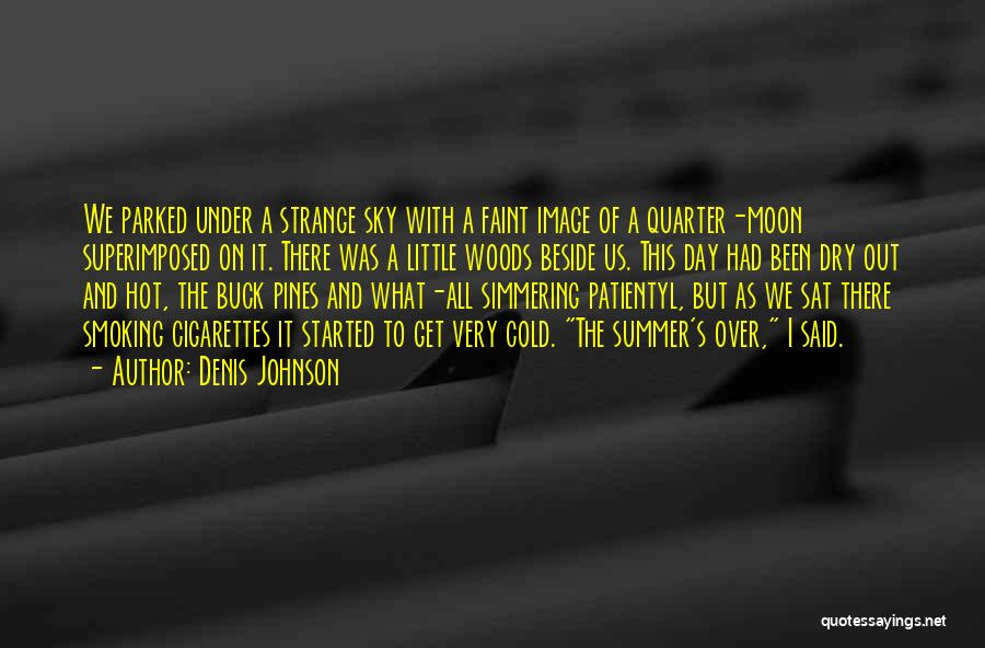It's Over Image Quotes By Denis Johnson