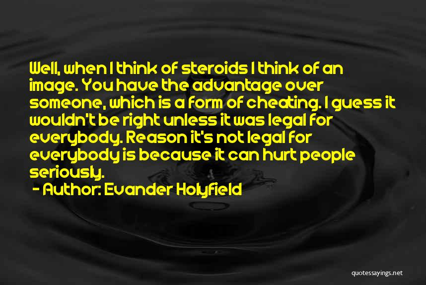 It's Over Image Quotes By Evander Holyfield