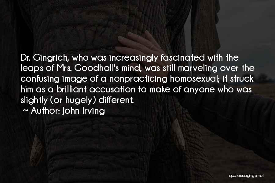 It's Over Image Quotes By John Irving