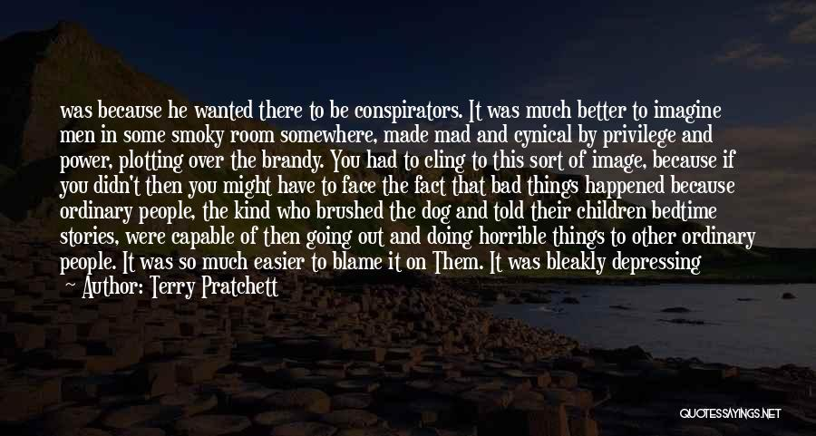 It's Over Image Quotes By Terry Pratchett
