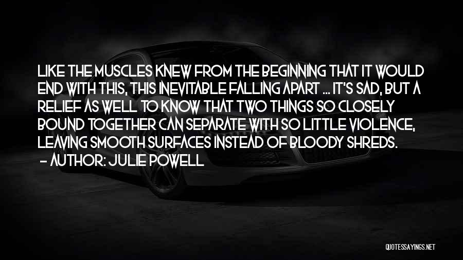 It's So Sad Quotes By Julie Powell