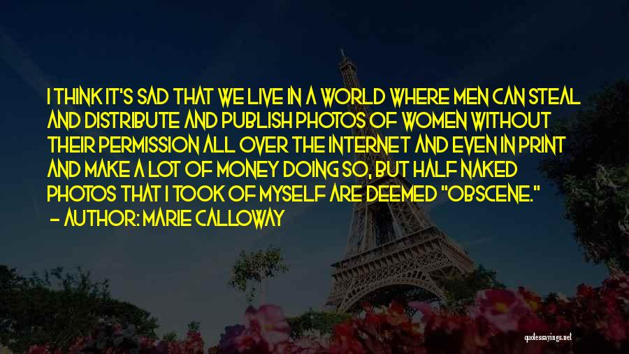 It's So Sad Quotes By Marie Calloway