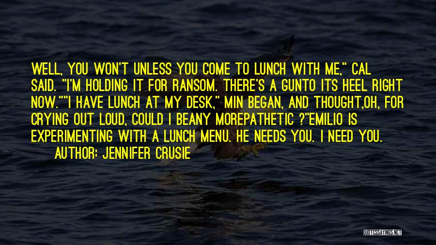 It's Well Quotes By Jennifer Crusie