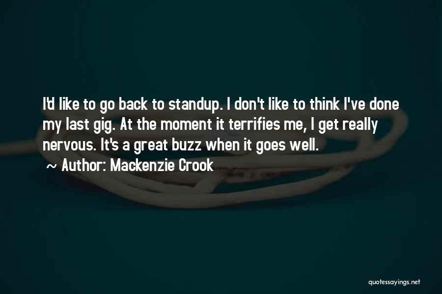 It's Well Quotes By Mackenzie Crook