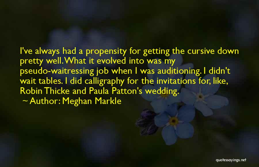 It's Well Quotes By Meghan Markle