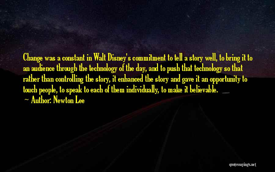 It's Well Quotes By Newton Lee