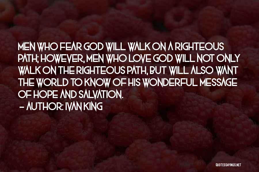 Ivan King Quotes 456209