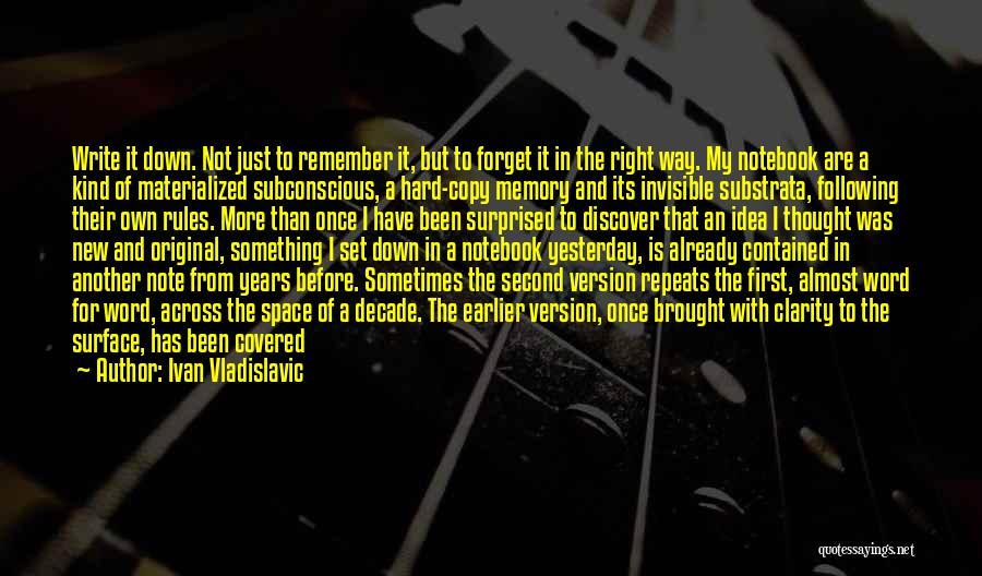 Ivan Vladislavic Quotes 1191005