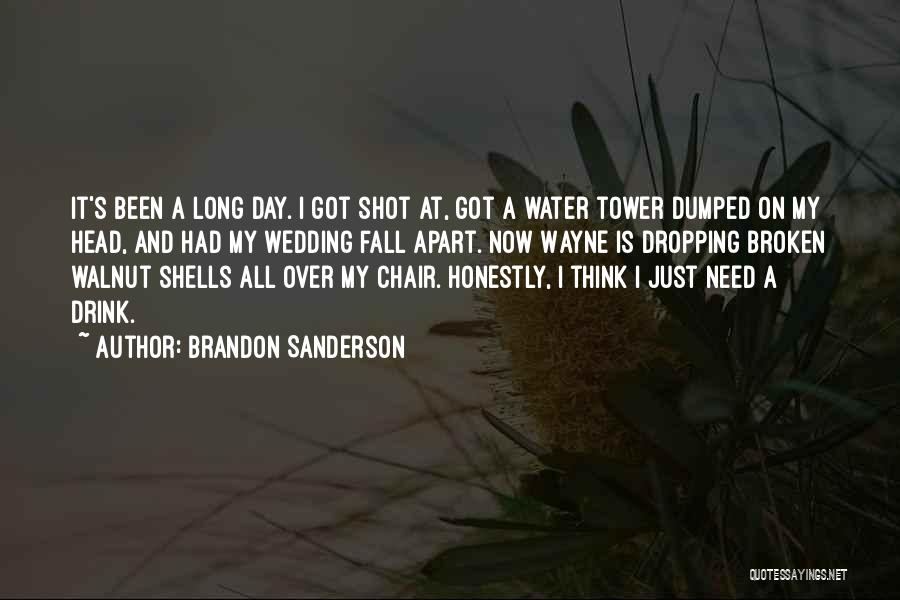 I've Been Dumped Quotes By Brandon Sanderson