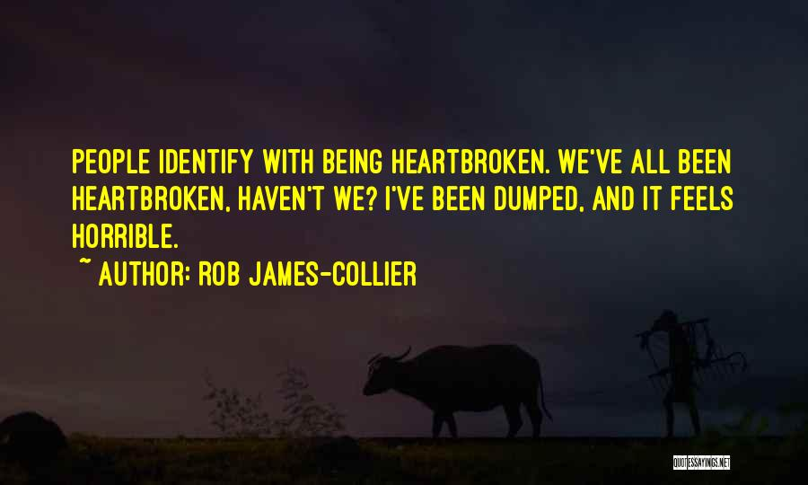 I've Been Dumped Quotes By Rob James-Collier