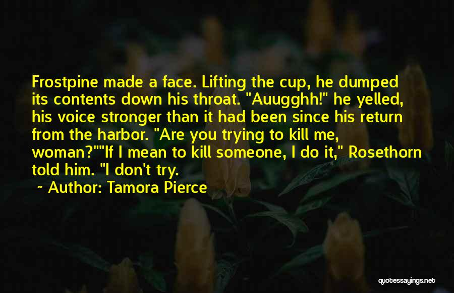 I've Been Dumped Quotes By Tamora Pierce